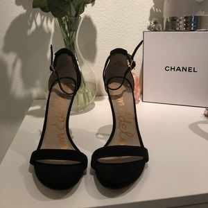 USED. Sam Edelman Black heels